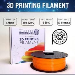 Orange  – Normal PLA (1kg)