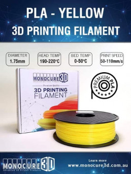 Yellow  – Normal PLA (1kg)