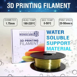 PVA - Water Soluble Support Filament (0.5kg)