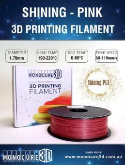 Shining PLA (1kg) – Pink