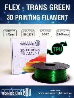 TPU - Flexible (1kg) – Green Transparent