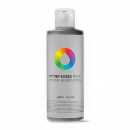 Carbon Black - MTN Water Based Paint Refill – 200ml