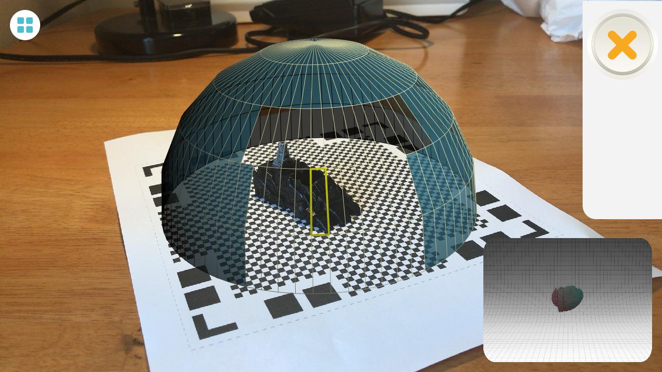 Qlone's AR Dome
