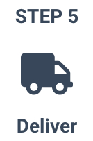 Your project gets delivered to your door